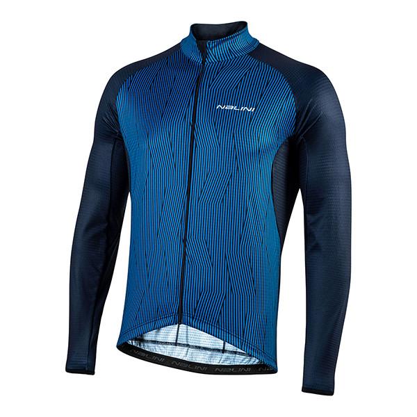 Nalini Classica B0W Blue Long Sleeve Jersey