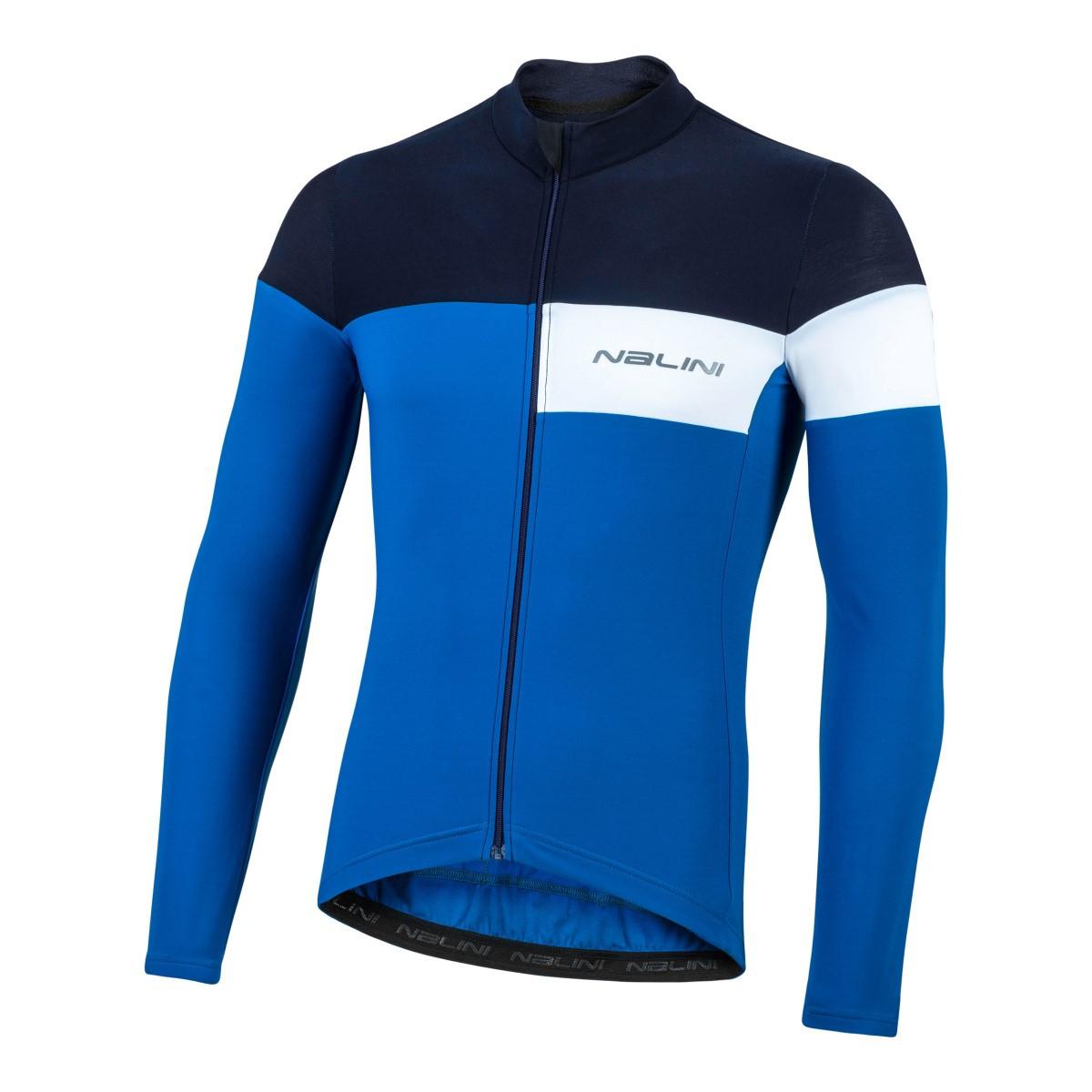 Nalini Pro Corsa B0W Blue Long Sleeve Jersey