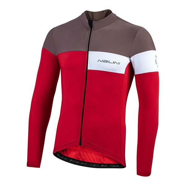 Nalini Pro Corsa B0W Red Long Sleeve Jersey