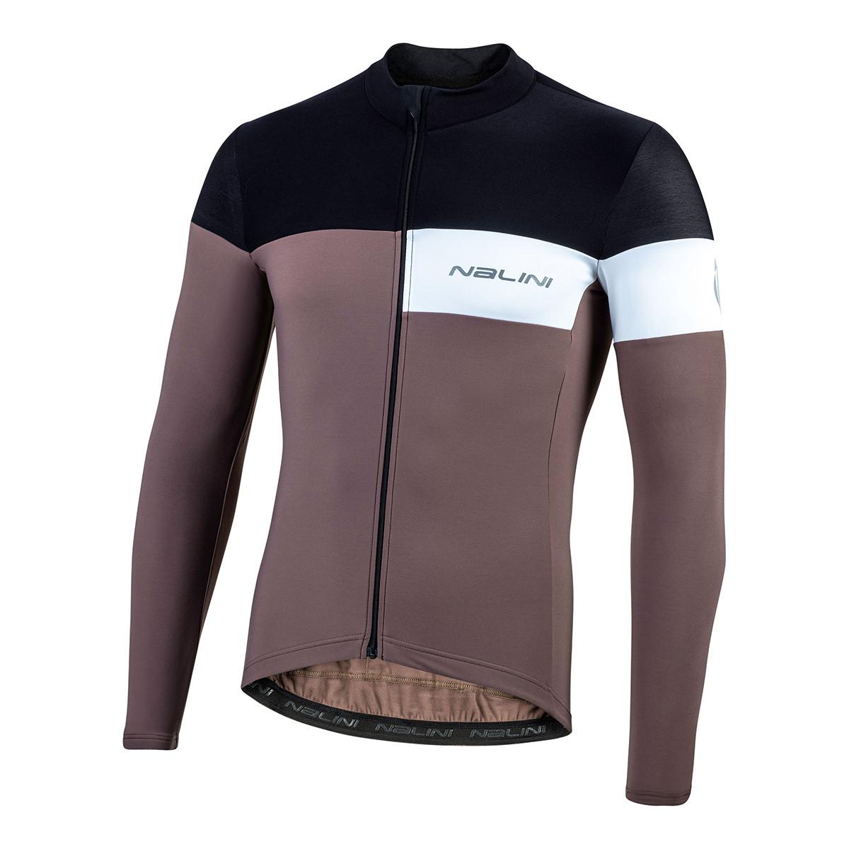 Nalini Pro Corsa B0W Brown Long Sleeve Jersey