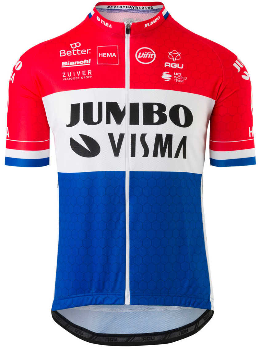 2020 Jumbo Visma Dutch Champion Jersey