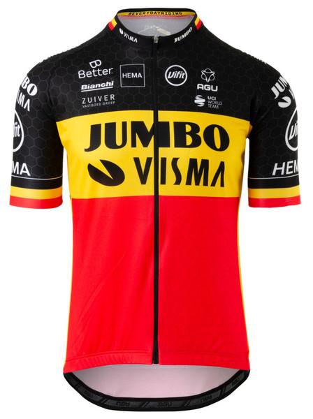 2020 Jumbo Visma Belgian Champion Jersey