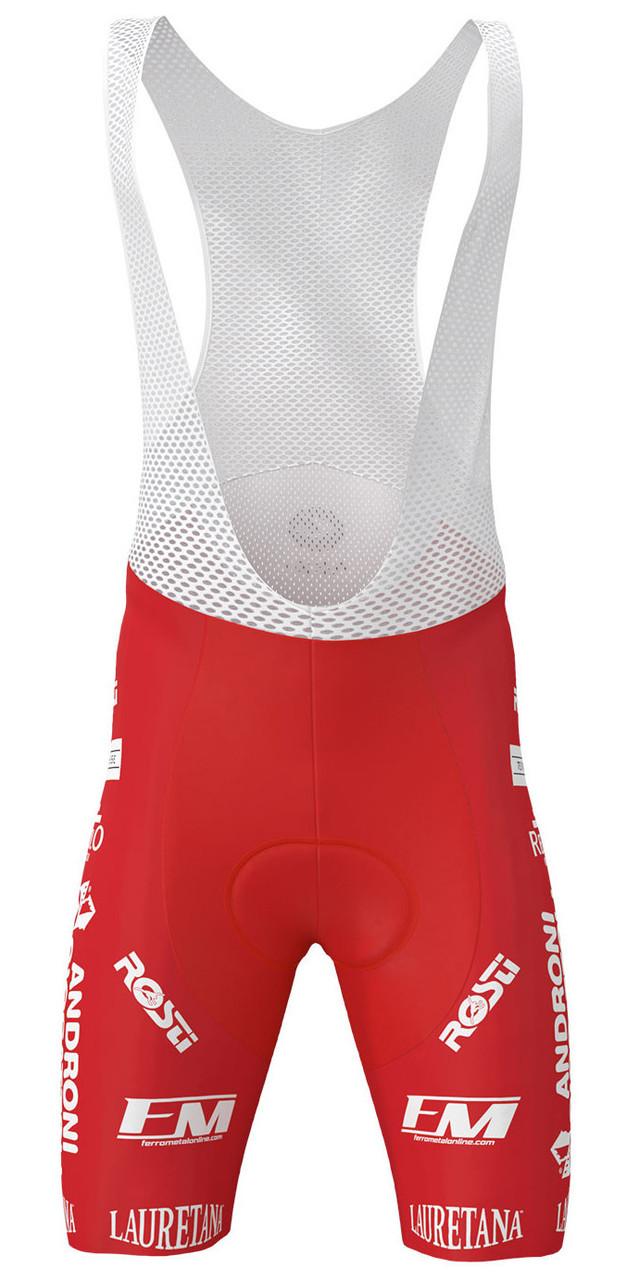 2020 Androni Giocattoli Sidermec Bib Shorts Front