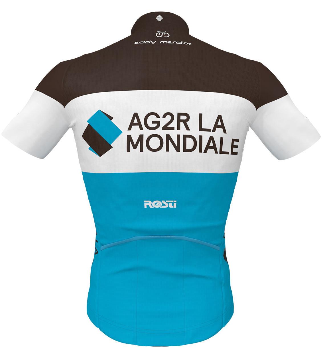 AG2R La Mondiale Jersey Rear