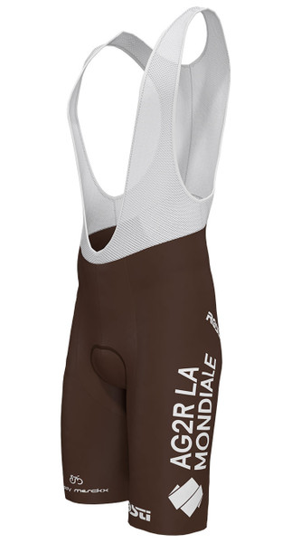 AG2R La Mondiale Bib Shorts Side