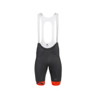 MCipollini Sprint Fuga 4H Pad Orange Bib Shorts