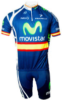 2011 Movistar Spanish Champion HZ Jersey  Front View