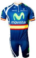 2011 Movistar Spanish Champion HZ Jersey  Front View