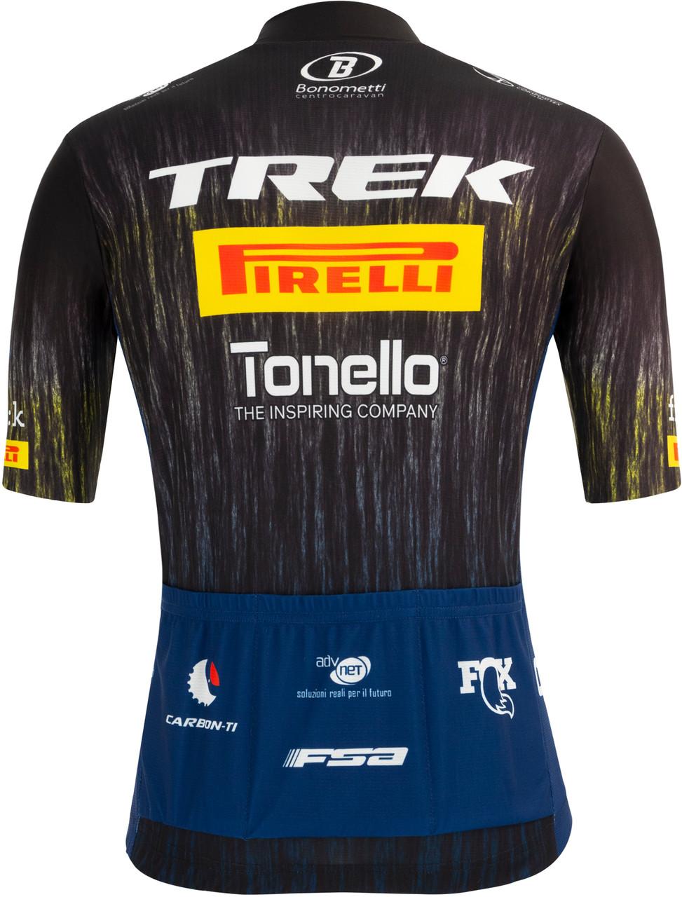 2021 Trek Pirelli Fan Jersey Rear