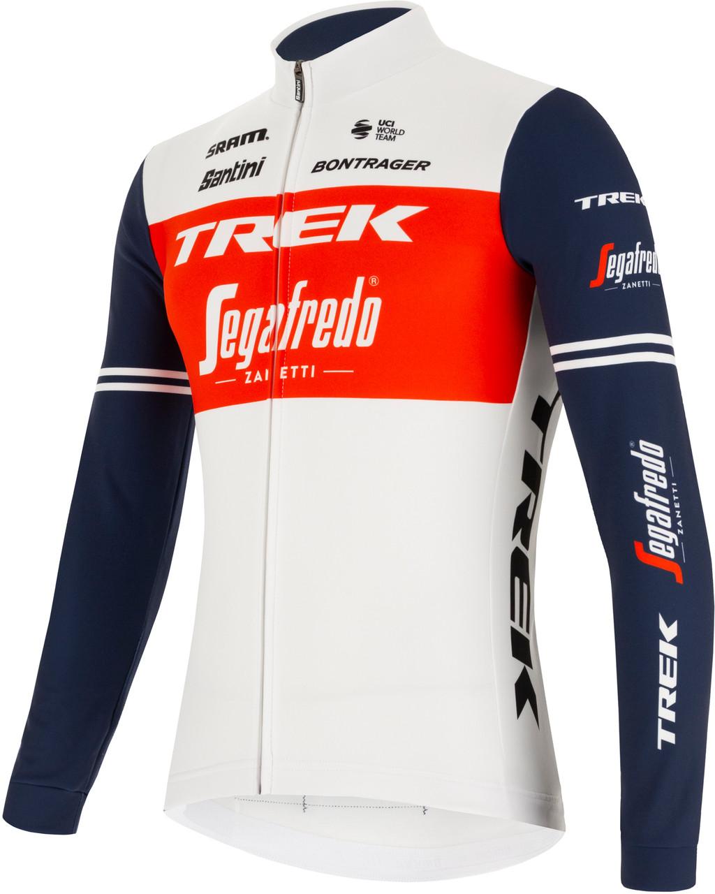 2021 Trek Segafredo Long Sleeve Jersey Side