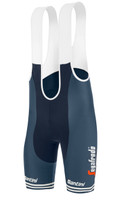 2021 Trek Segafredo Fan Bib Shorts SIDE