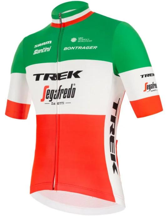 2021 Trek Segafredo Italian Champ Fan Jersey side