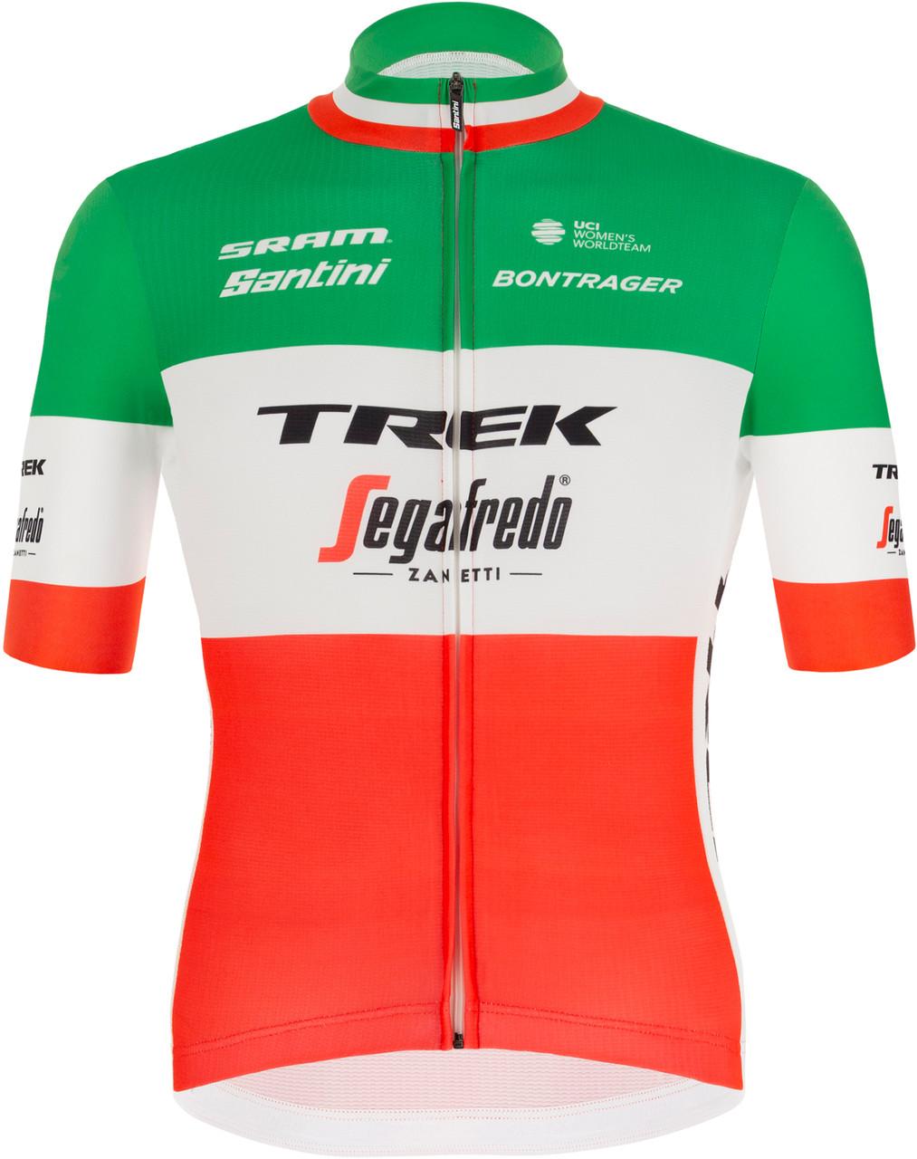 2021 Trek Segafredo Italian Champ Fan Jersey rear