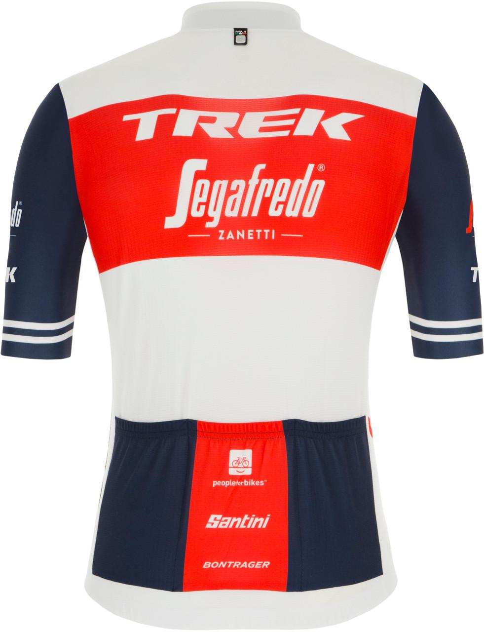 2021 Trek Segafredo Jersey Rear