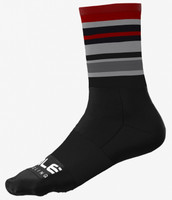 ALE' Stripes Black Socks