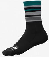 ALE' Stripes Green Socks