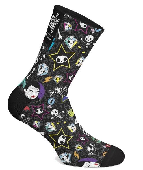 BK-NSD Toki Doki Rock Socks