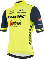 2021 Trek Segafredo Yellow Fluo Fan Jersey side