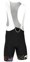 BK-NSD Tokidoki Rock Seamless Black Bib Shorts