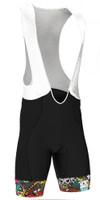 BK-NSD Tokidoki Tiger Seamless Black Bib Shorts