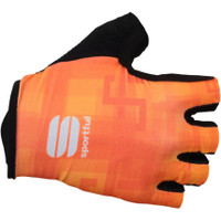 Sagan Logo Orange Gloves