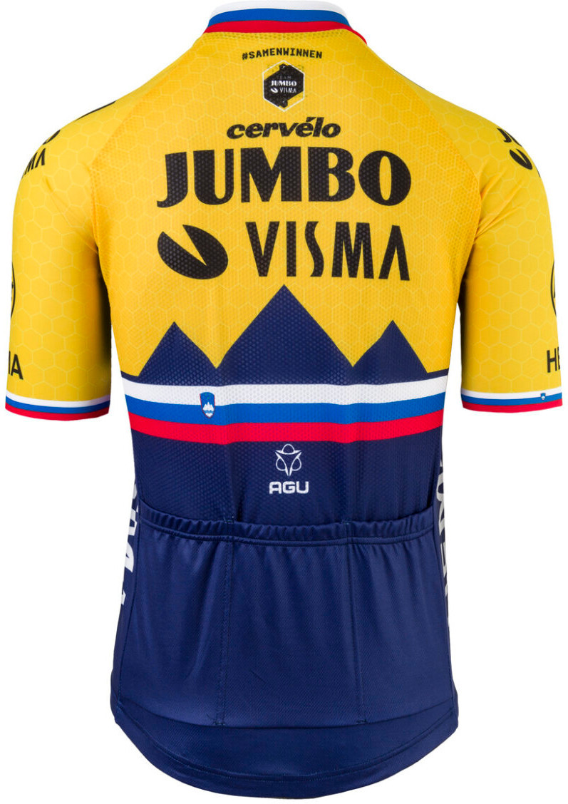 2021 Jumbo Visma Slovenia Champ Jersey Rear