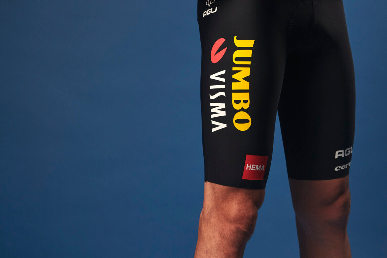 2021 Jumbo Visma Bib Shorts Rider