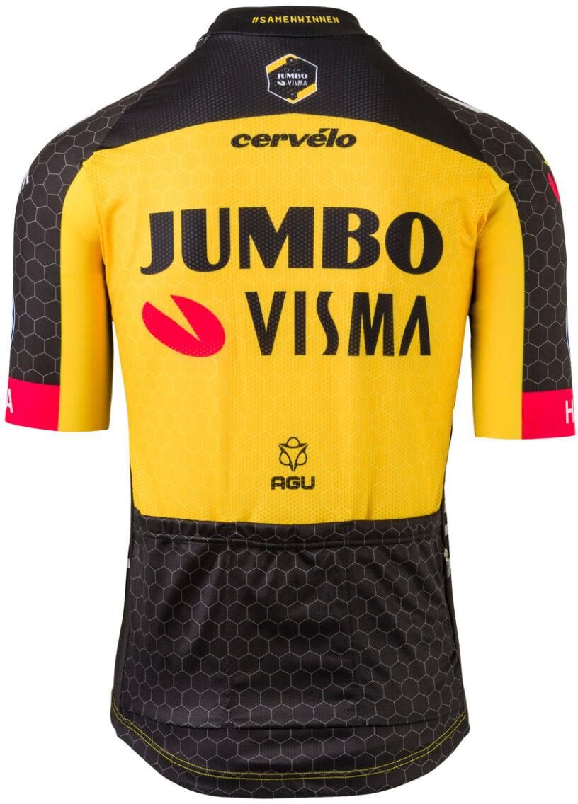 2021 Jumbo Visma Jersey Rear