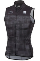 Sagan Logo Body Fit WS Vest Grey