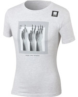 Sagan Fingers Tee Light Gray