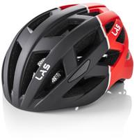 LAS ENIGMA Matt Black Red - No Visor Helmet