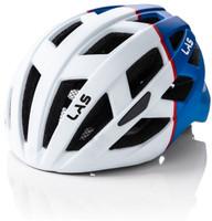 LAS ENIGMA Matt White Blue - No Visor - Helmet