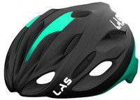 LAS COBALTO Matt Black Celeste Bianchi - Helmet