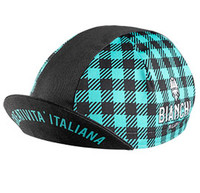 Bianchi Milano Neon Black Green Checkered 4100 Cap