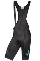 Bianchi Milano Morello Black Bib Shorts