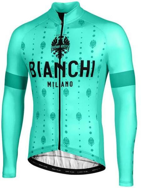 Bianchi Milano Perticara Celeste Long Sleeve Jersey