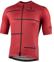 Bianchi Milano Disueri Rust Red Jersey