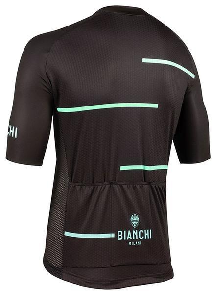 Bianchi Milano Disueri Black Jersey reae