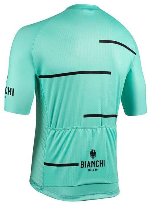 Bianchi Milano Disueri Celeste Jersey Rear