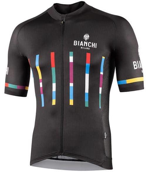 Bianchi Milano Fanaco Black Jersey