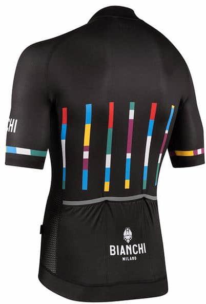 Bianchi Milano Fanaco Black Jersey Rear