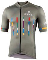 Bianchi Milano Fanaco Gray Jersey