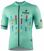 Bianchi Milano Fanaco Celeste Jersey