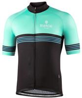Bianchi Milano Prizzi Black Celeste Jersey