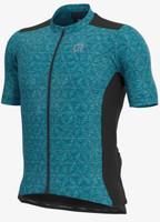 ALE' Rondane Gravel Turquoise Jersey
