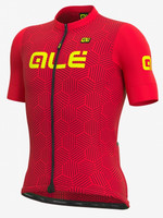 ALE' Cross Solid Red Jersey