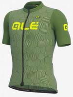 ALE' Cross Solid Green Jersey