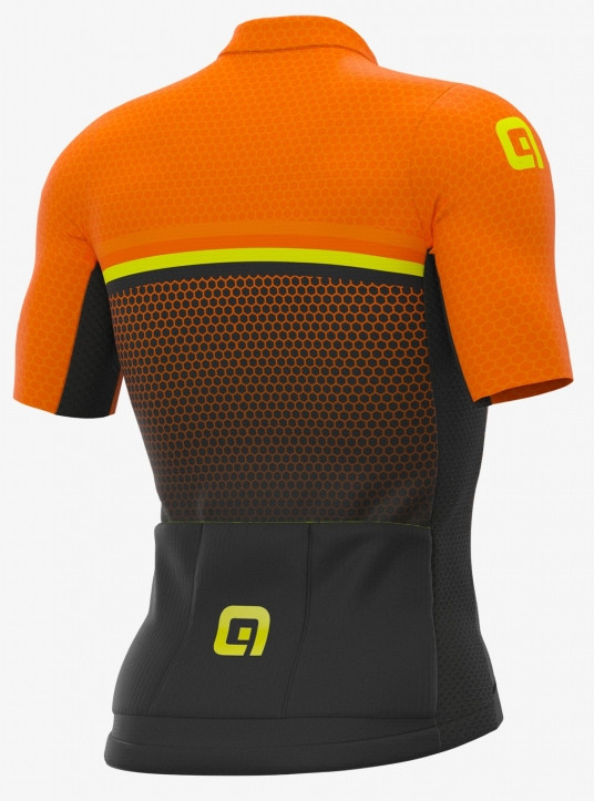 ALE' Bridge PR-S Orange Jersey Rear