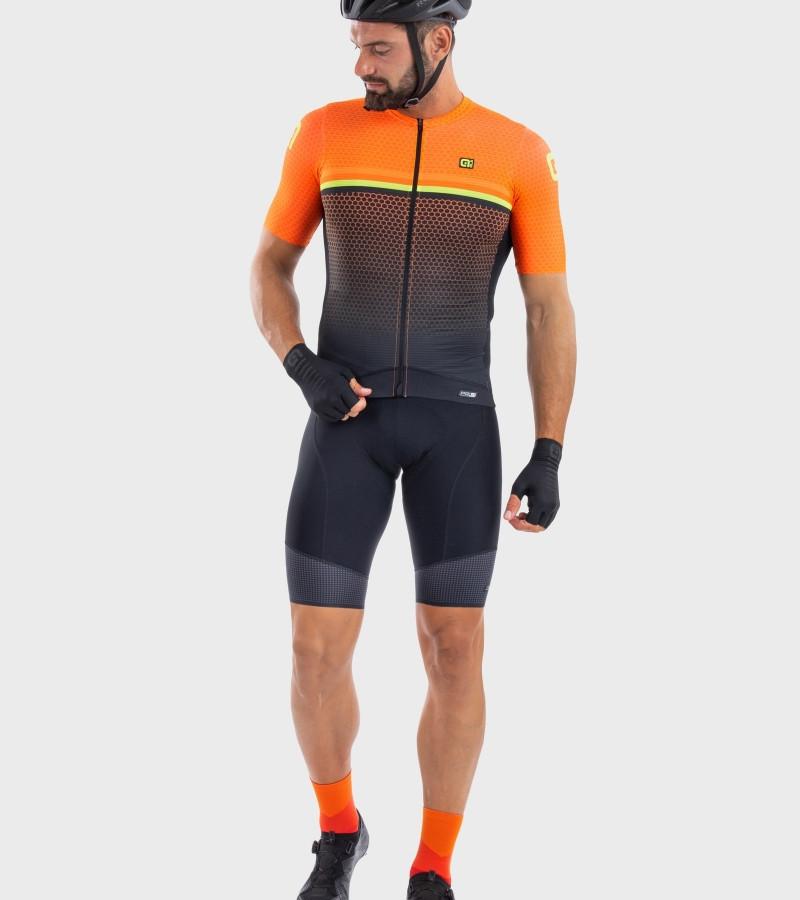 ALE' Bridge PR-S Orange Jersey Rider