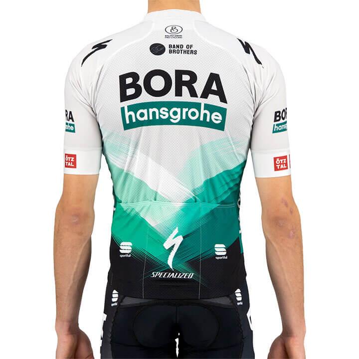2021 Bora Hansgrohe Bodyfit Team Jersey Rear
